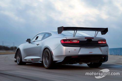 Presentazione Chevrolet Camaro GT4.R