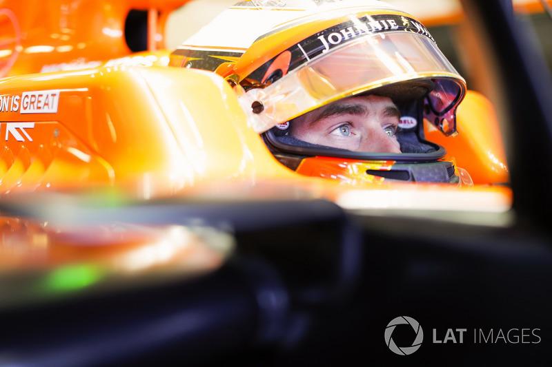McLaren – Stoffel Vandoorne (CONFIRMADO)