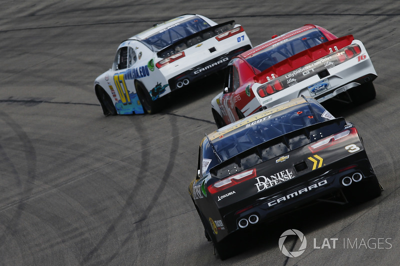 Ray Black Jr., SS-Green Light Racing Chevrolet, Ryan Reed, Roush Fenway Racing Ford, Brian Scott, Daniel Defense Chevrolet Camaro