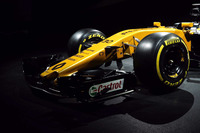 Renault Sport F1 Team RS17 front wing detail