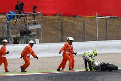Alvaro Bautista, Aspar Racing Team, crash