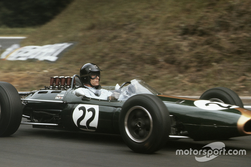 Gurney in a Brabham was a fearsome combination, and in 1964 he scored two wins and two poles.