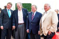 Henry Ford III, Dan Gurney, Edsel Ford II, A.J. Foyt