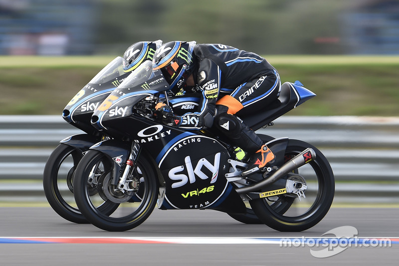 Andrea Migno, Sky Racing Team VR46; Nicolo Bulega, Sky Racing Team VR46