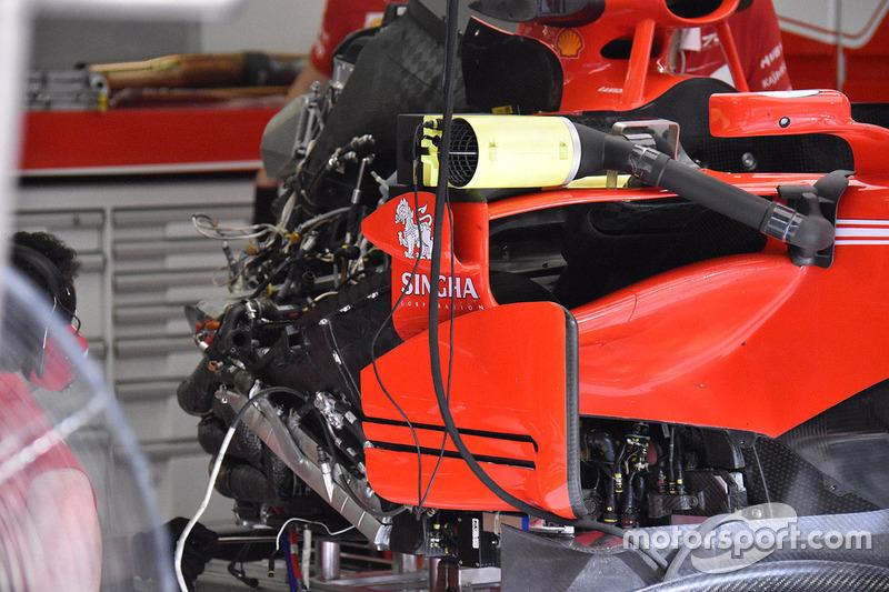 Ferrari SF70H, detalle