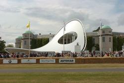 Monumento de Renault en Goodwood