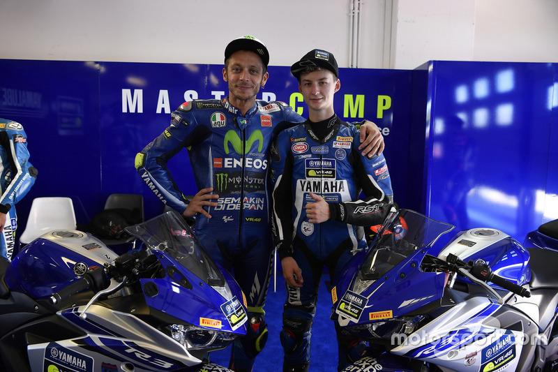Валентино Россі, Movistar Yamaha MotoGP, Микита Калінін