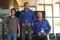 Christian Zimmermann, Thierry Kilchenmann, Fabio Gubitosi, podium OPC Challenge