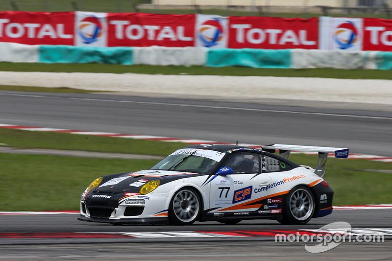 #77 Team NZ Porsche 997 GT3 Cup: Graeme Dowsett, John Curran
