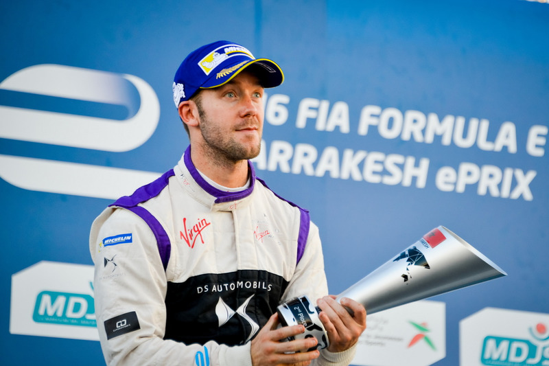 Podium: 2. Sam Bird, DS Virgin Racing