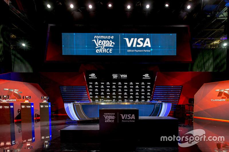 Las Vegas eRace stage