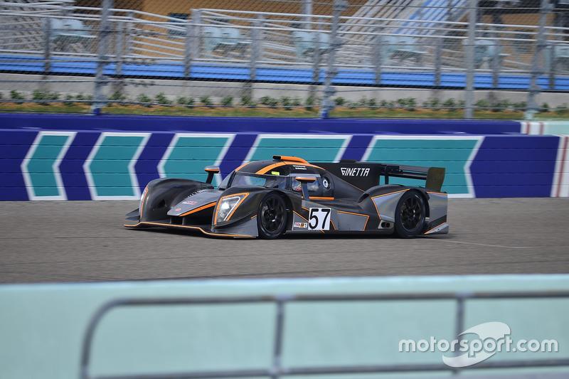 #57 FP1 Ginetta G57 driven by Mike Simpson & Giulio Borglenghi of Ginetta USA