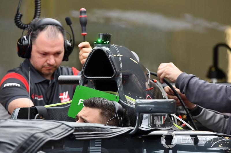 Повітрозабірник Haas F1 Team VF-17