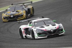 #3 R-ace GP Racing, Renault RS01: Kevin Korjus, Philippe Haezebrouck