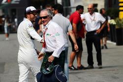 Fernando Alonso, McLaren avec Jackie Stewart