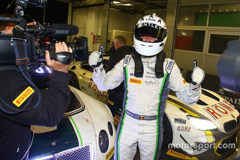 Race winner Maxime Soulet