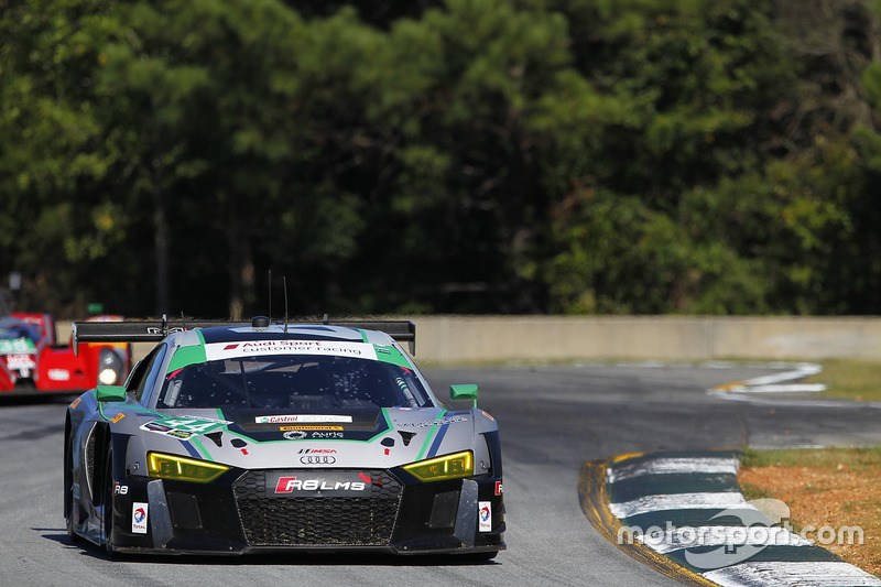#44 Magnus Racing, Audi R8 LMS: John Potter, Andy Lally, Marco Seefried