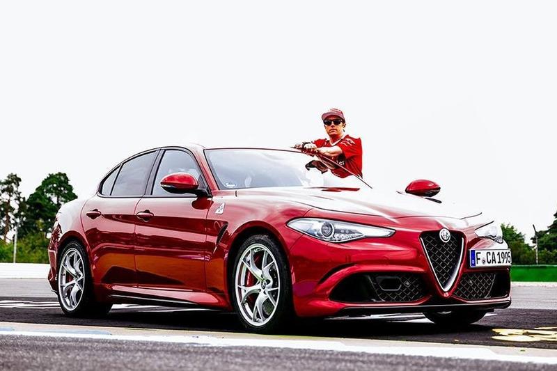 Kimi Raikkonen - Alfa Romeo Giulia