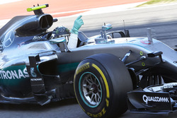 Kazanan Nico Rosberg, Mercedes AMG F1 Team W07