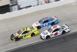 Paul Menard, Richard Childress Racing Chevrolet, Brian Scott, Richard Petty Motorsports Ford, Trevor Bayne, Roush Fenway Racing Ford