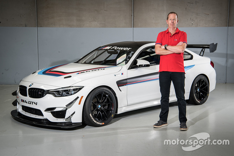 BMW M4 GT4 unveil