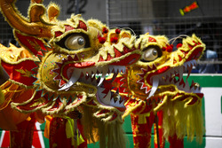 Chinese dragons on the grid