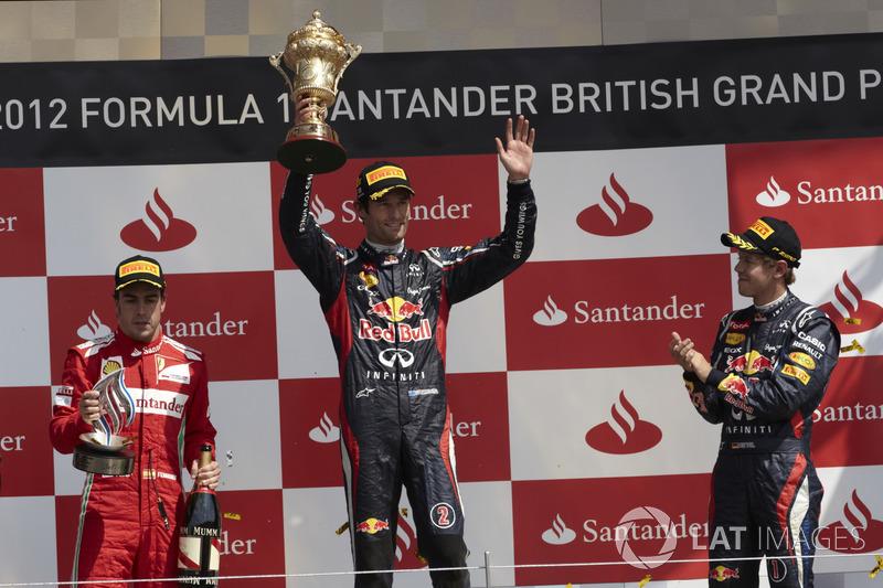 2012: Mark Webber