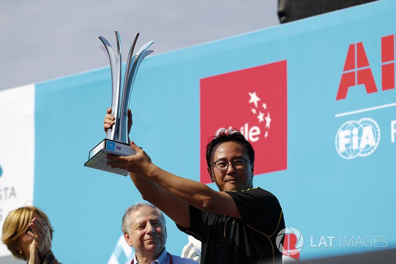TECHEETAH, take the constructors trophy