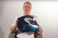 Валттері Боттас, Mercedes AMG F1, презентує новий шолом
