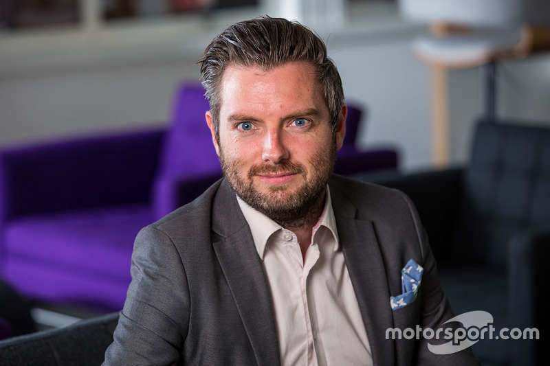 Ian Nolan, vicepresidente de desarrollo e innovación de negocios de Motorsport Network