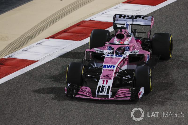 12. Sergio Perez, Force India VJM11 Mercedes