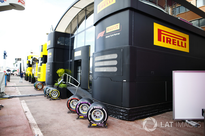 L'area hospitality Pirelli