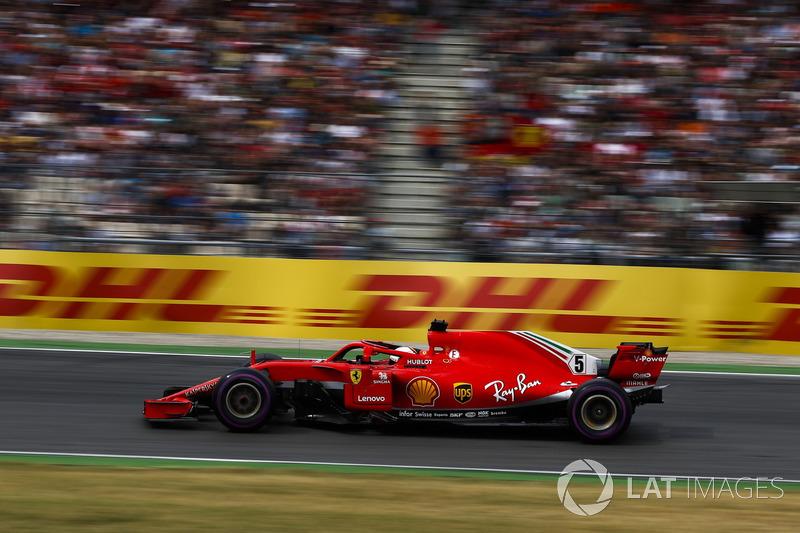 Allemagne - Sebastian Vettel, Ferrari