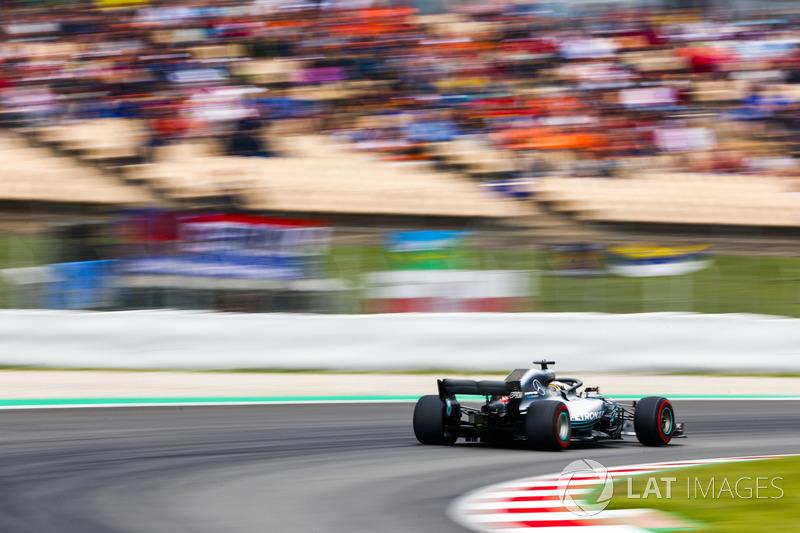 Espagne - Lewis Hamilton, Mercedes