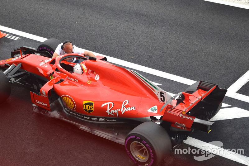 6 місце — Себастьян Феттель, Ferrari. Умовний бал — 21,67