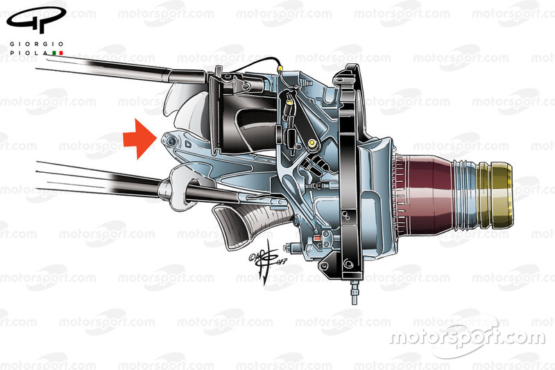 Red Bull RB13 ophanging