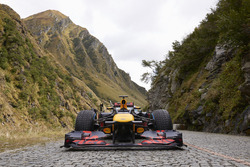 Red Bull am Gotthardpass