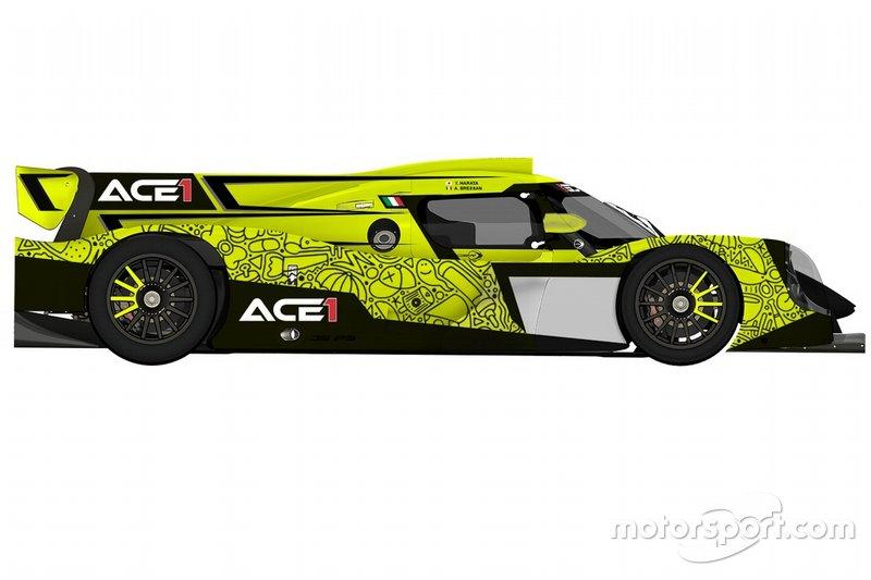 Rendering livrea Ace1 Villorba Corse Ligier
