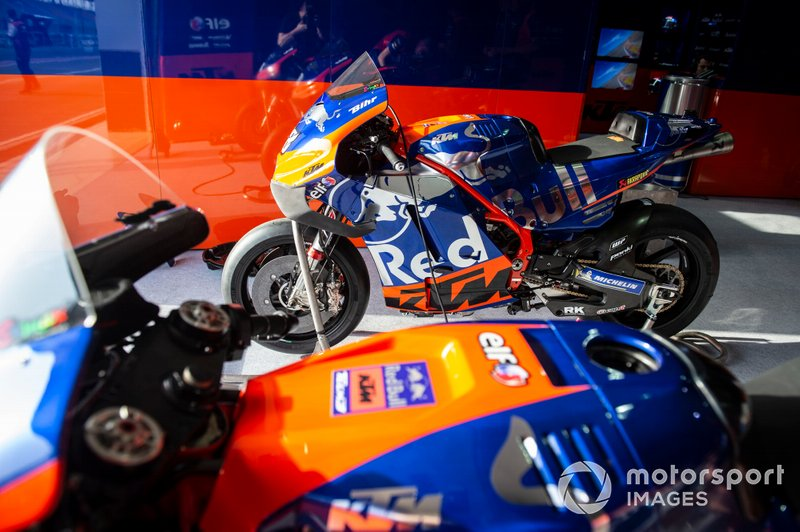 Les motos du team Red Bull KTM Tech3
