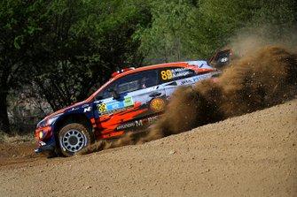 Андреас Міккельсен, Андерс Егер, Hyundai Motorsport, Hyundai i20 Coupe WRC