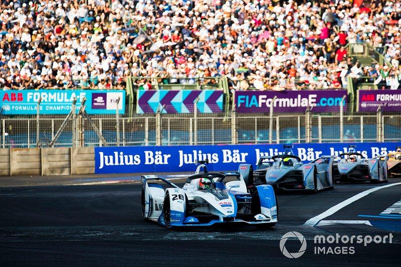 Antonio Felix da Costa, BMW I Andretti Motorsports, BMW iFE.18 Felipe Massa, Venturi Formula E, Venturi VFE05, Edoardo Mortara, Venturi Formula E, Venturi VFE05