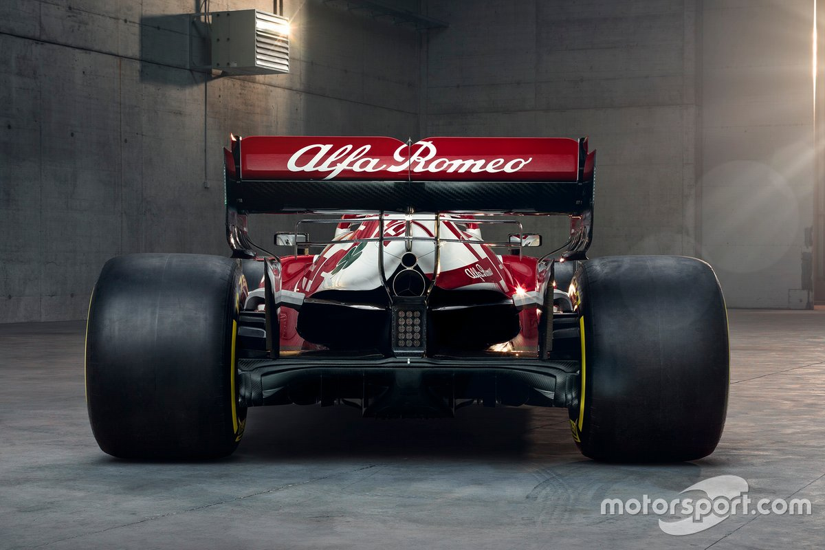 Alfa Romeo Racing C41 rear