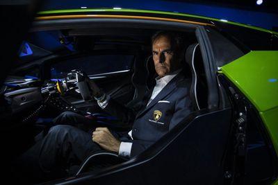 Lamborghini SCV12 test