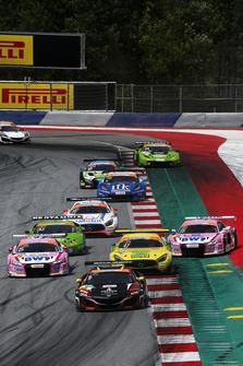 #9 HONDA Team Schubert Motorsport Honda NSX GT3: Christopher Dreyspring, Giorgio Maggi, #25 BWT Mück