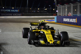 Carlos Sainz Jr., Renault Sport F1 Team R.S. 18 op de grid