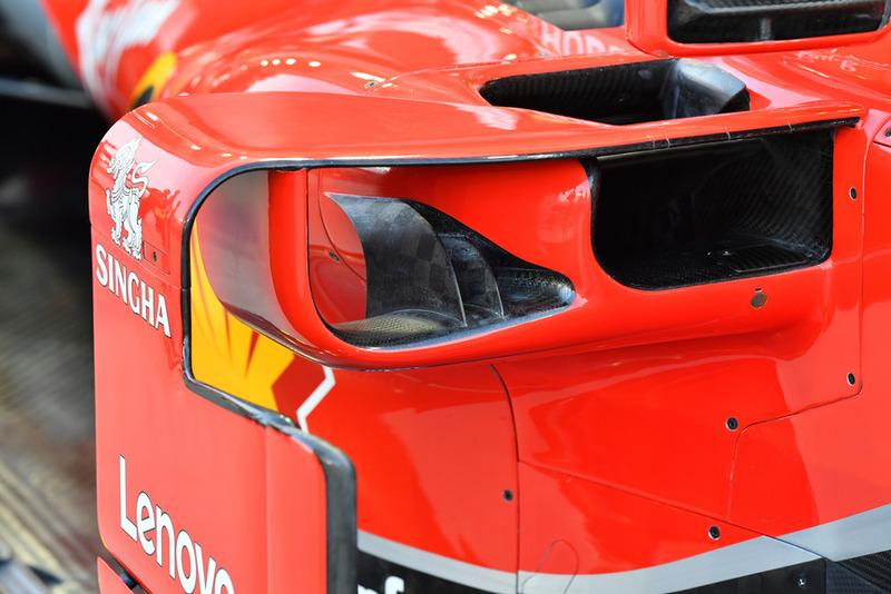 Ferrari SF71H, oldaldoboz