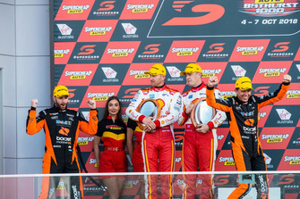 Podium: Scott Pye,Warren Luff, Walkinshaw Andretti United Holden