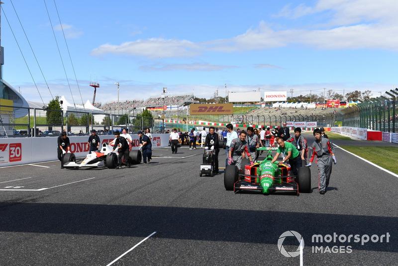 Benetton B188, acara demonstrasi lap Perayaan Legenda F1 ke-30