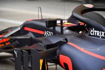 Bodywork on Red Bull Racing RB14