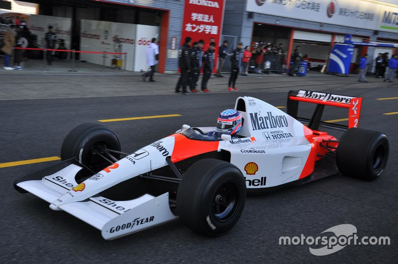 Такума Сато, McLaren Honda MP4/6